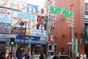 パークアベニュー堂山商店街